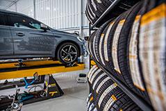 alinhamento 3d pneus