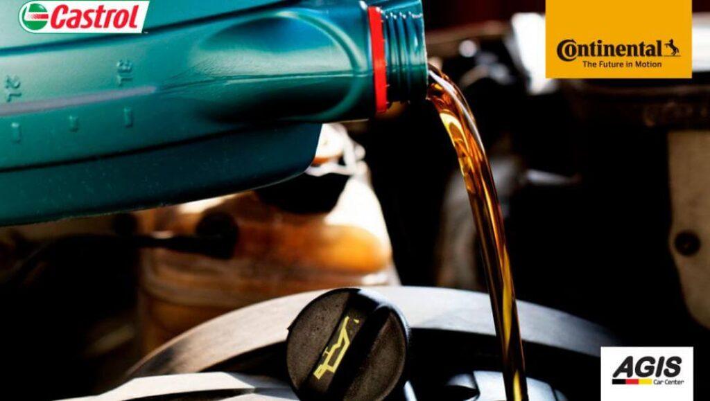 óleos e lubrificantes castrol