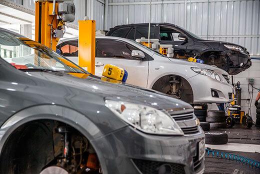 troca de pneus para carros