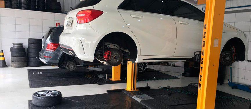 troca suspensão agis pneus